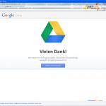 Google Drive Anmeldung im Web