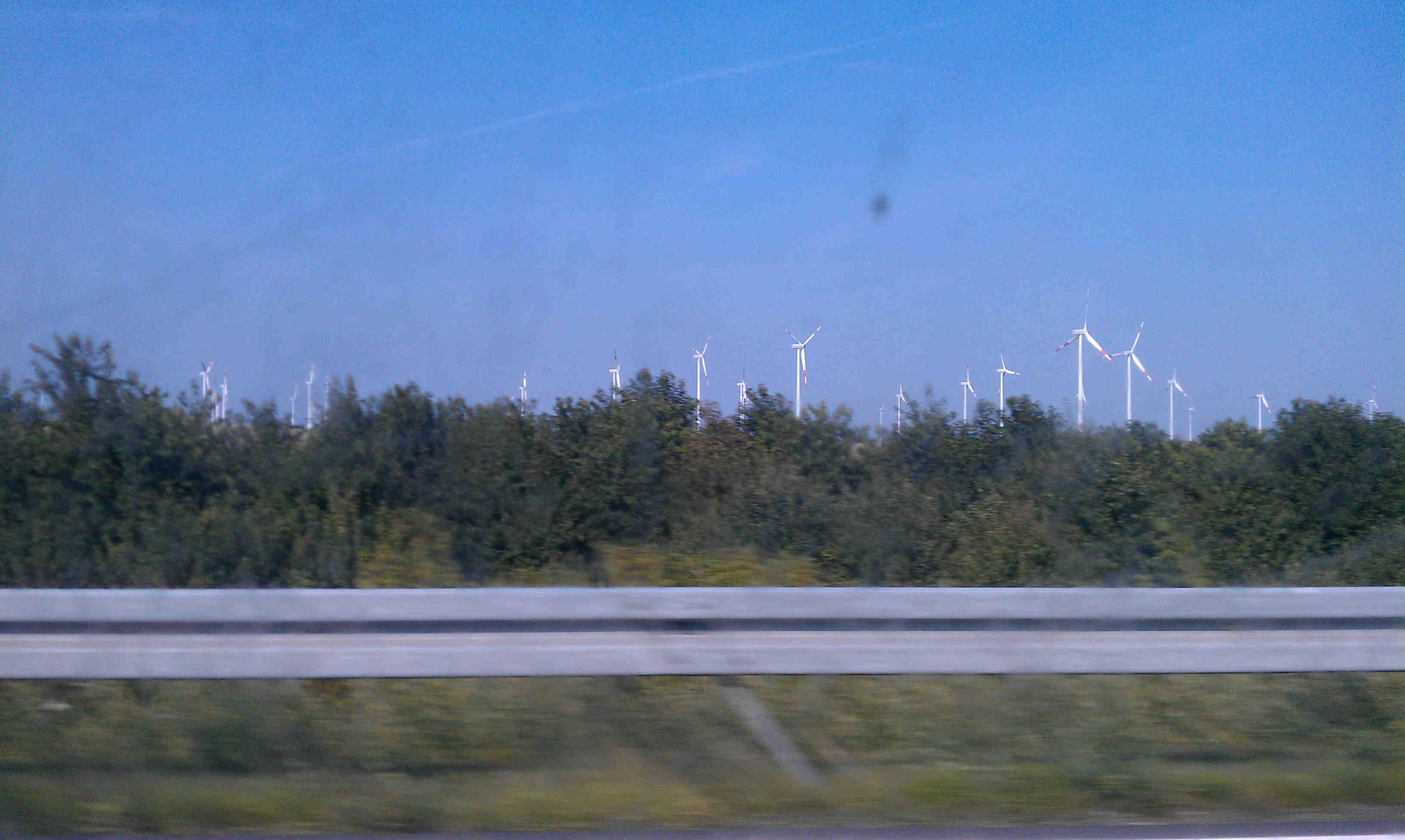 Strom wird hier auch produziert