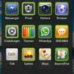Zuletzt verwendete Apps