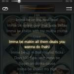 Musikplayer mit Textanzeige unter MIUI
