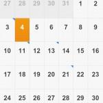 Kalender unter MIUI