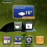 Wetter + Apps