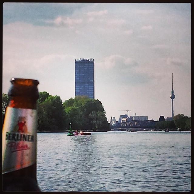 #Wasser auf der #Spree nanana #Berlin #Sonne #Sommer #Sonnenschein #Urlaub