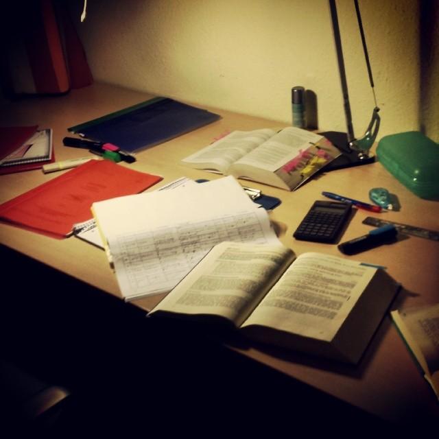 #lernen die ganze #Nacht