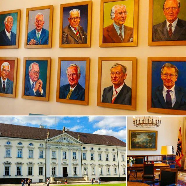 #SchlossBellevue und die vergangen #Bundespräsidenten