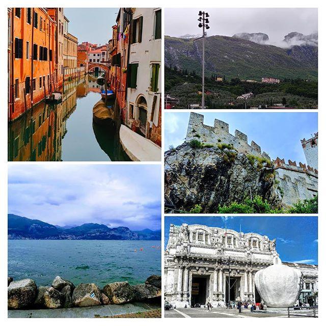 Einmal Italien und zurück . . . . . #Mailand #Venedig #Gardasee